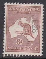 Australia SG 73 1915-20 Kangaroo Six Pence Chetnaut,used, - Used Stamps