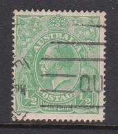 Australia SG 20 1914 King George V Half Penny Green,used - Used Stamps