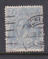 Australia SG 65 1918 King George V 4 Pence Ultramarine,used - Used Stamps