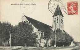 "/ CPA FRANCE 77 ""Moussy Le Neuf, L'église"" - France"