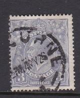 Australia SG 79 1924 King George V Three Pence,used . - Used Stamps