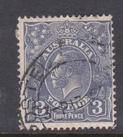 Australia SG 128 1931-36 King George V Three Pence Ultramarine,used . - Used Stamps