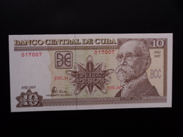 CUBA : 10 PESOS  2005  P 117h    NEUF - Cuba
