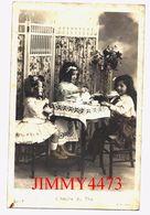 CPA -  L' Heure Du Thé - Trois Jolies Petites Filles Buvant Du Thé - N° 307/3 - Edit. A. N. Paris - Scènes & Paysages