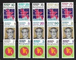 BANGLADESH 1971 COURANTS MICHEL  N°B1/15  NEUF MNH** - Bangladesh