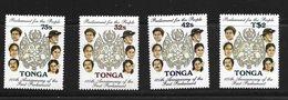 TONGA 1987 125eme ANNIVERSAIRE DU PARLEMENT  YVERT  N°677//80  NEUF MNH** - Tonga (1970-...)