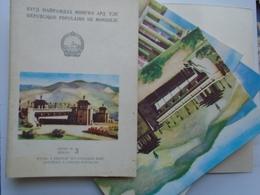 D157258 MONGOLIA  Ulan-Bator  6 Postcards - Mongolia