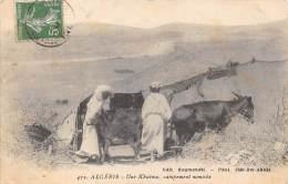 ALGERIE    UNE KHAIMA, CAMPEMENT NOMADE - Algeria