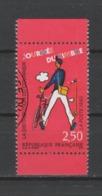 FRANCE / 1993 / Y&T N° 2793 : Journée Du Timbre (Tati) Sans Surtaxe De Carnet Avec Bords - Cachet Rond - France