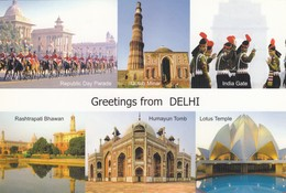 11805-GREETINGS FROM DELHI(INDIA)-FG - India