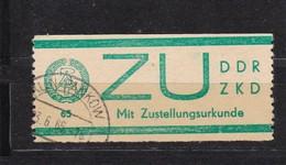 DDR, Dienst: ZU 1, Gest. (T 2962) - Service