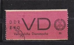 DDR, Dienst: VD 1, Gest. (T 2963) - Service
