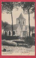 Steenkerke - De Kerk - 1918 ( Voir Verso ) - Veurne