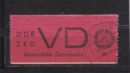 DDR, Dienst: VD 1, Gest.gepr. Engel (T 2964) - Service