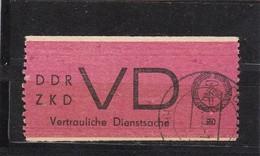 DDR, Dienst: VD 1, Gest. (T 2965) - Service