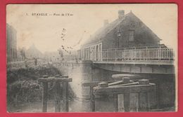 Stavele - Pont De L'Yser - 1917 ( Voir Verso ) - Alveringem