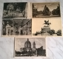 5 CARTOLINE TORINO(10) - Collections & Lots