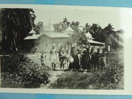 Carte Photo Une Des Eglises De Buka Les PP Conley Et Wade - Papua New Guinea