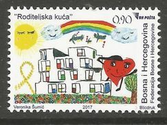 BH 2017-10 PARENT'S HOME, BOSNA AND HERZEGOVINA, 1 X 1v, MNH - Bosnie-Herzegovine