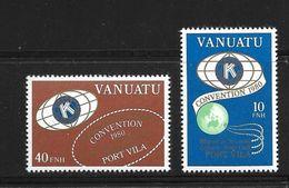 VANUATU 1980 KIWANIS CLUB  YVERT  N°613/14  NEUF MNH** - Vanuatu (1980-...)