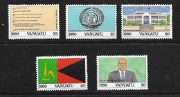 VANUATU 1990 INDEPENDANCE  YVERT  N°846/50  NEUF MNH** - Vanuatu (1980-...)