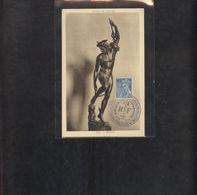 Carte Maximum Mercure 1944 - 1940-49