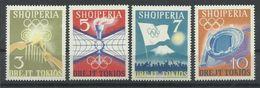 ALBANIA  YVERT  685/88   MNH  ** - Albanie
