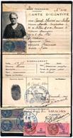 697 - Carte D'identité Année 1944 - Transportation Tickets