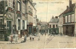 TOUCY (Yonne) -- RUE  PHILIPPE-VERGER      Divers Plis Dans Le état - Toucy