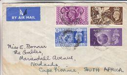 Grande Bretagne - Lettre FDC De 1948 - Oblit London - Exp Vers Newlands - Valeur 50 € - Jeux Olympiques - 1902-1951 (Rois)