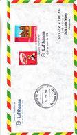 Bolivie - Lettre De 1972 ° - Oblit Correos De Bolivia - Vol Spécial Vers Lorch - Bolivia