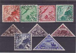 #E.8394 Touva, 1934  Full Set Used, Michel 49 - 57: Fauna, Air Post - Tuva