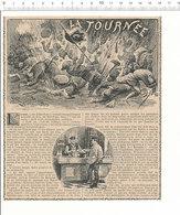 """2 Scans 1910 La Tournée Boisson """"Une Au Sucre"""" Récit Batailles Guy De Téramond Indochine Tonkin Cau-Hai Bang-Bo 216CHV8 - Vieux Papiers"""