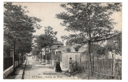93 SEINE SAINT DENIS - BAGNOLET Val Fleury, Avenue Des Roses - Bagnolet