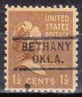 USA Precancel Vorausentwertung Preo, Locals Oklahoma, Bethany 729 - Vereinigte Staaten