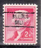 USA Precancel Vorausentwertung Preo, Locals Oklahoma, Billings 734 - Vereinigte Staaten