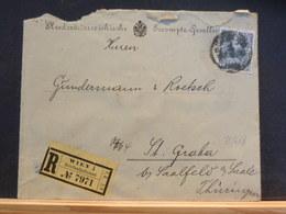 75/653  LETTRE POUR ALLEMAGNE 1909 - 1850-1918 Keizerrijk