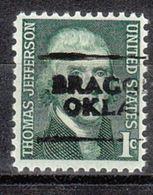 USA Precancel Vorausentwertung Preo, Locals Oklahoma, Braggs 701 - Vereinigte Staaten