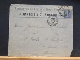 75/659  LETTRE POUR ALLEMAGNE 1907 - France