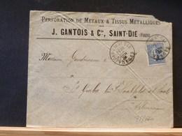 75/660  LETTRE POUR ALLEMAGNE 1906 - France