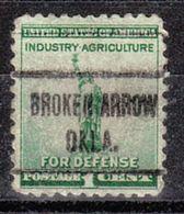 USA Precancel Vorausentwertung Preo, Locals Oklahoma, Broken Arrow 722 - Vereinigte Staaten