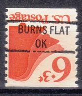 USA Precancel Vorausentwertung Preo, Locals Oklahoma, Burns Flat 841 - Vereinigte Staaten