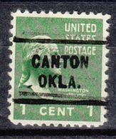 USA Precancel Vorausentwertung Preo, Locals Oklahoma, Canton 712 - Vereinigte Staaten