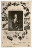 CPA   RAYMONT POINCARE   SOUVENIR VOYAGE DANS LE CENTRE  MULTIVUES  1913 - Personnages