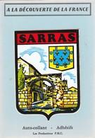 Ardéche : SARRAS : ( écusson Auto-collant ) Prod. P.m.c. - Other Municipalities