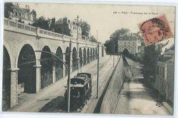 Pau Tramway De La Gare - Pau