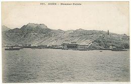 ADEN - Steamer Pointe - Messageries Maritimes    (103490) - Yémen