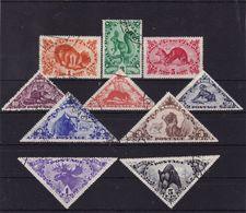 #E.8396 Touva, 1935  Full Set Used, Michel  66 - 75: Fauna - Tuva