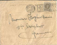 6Mm-999: N° 255: Met A  F := AVENIR FAMILIAL : 1BRUXELLES ...1930 - Lochung