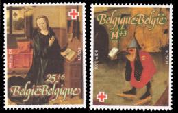 Belgium 2398/99**  Croix Rouge  MNH - Belgique